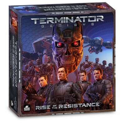 Terminator Genisys: Rise Of The Resistance - Box