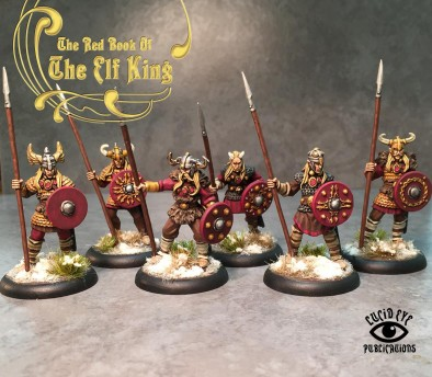 The Companions (Painted) - The Elf King