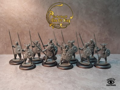 The Elf King Companions Unpainted - Lucid Eye