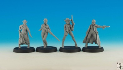 Tombstone Female Characters - Black Scorpion Miniatures