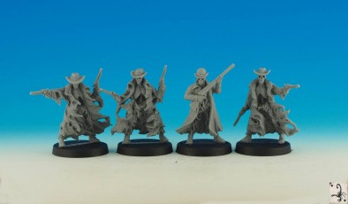 Tombstone Undead Characters - Black Scorpion Miniatures