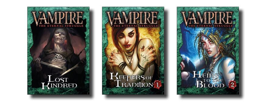 Vampire: The Eternal Struggle: Keepers of Tradition Bundle 1 Expansion Information