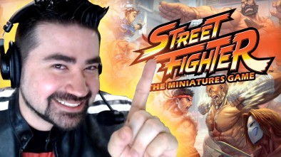 AngryJoe Talks Street Fighter Miniature Game