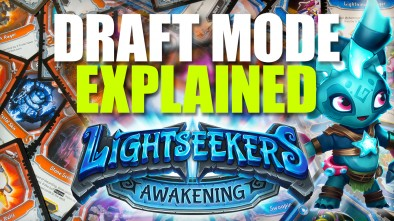 Lightseekers: Booster Draft Mode Explained