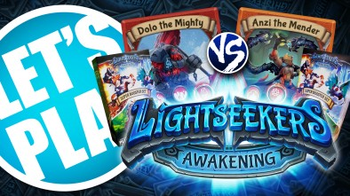 Let's Play: Lightseekers - Expanded Starter Decks Tech vs Mountain