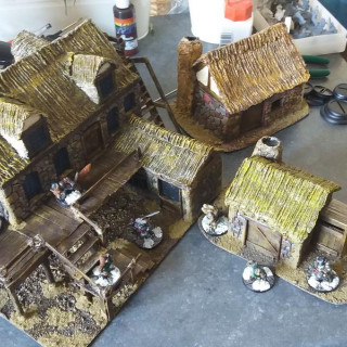 First few Buildings Completed