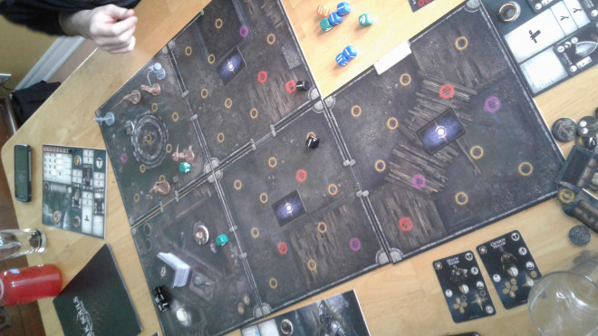 Dark Souls: the board game painting