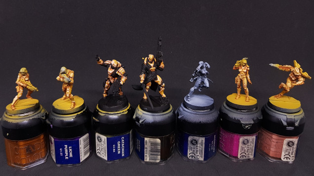 Mid progress trying some batch painting