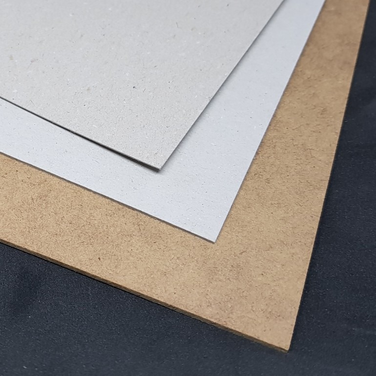 Materials used to laser cut and build with.