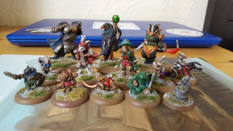 Some Finished Miniatures...