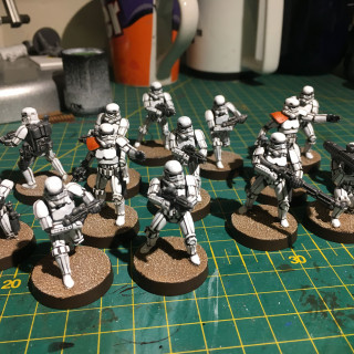 Only Imperial stormtroopers are so precise...