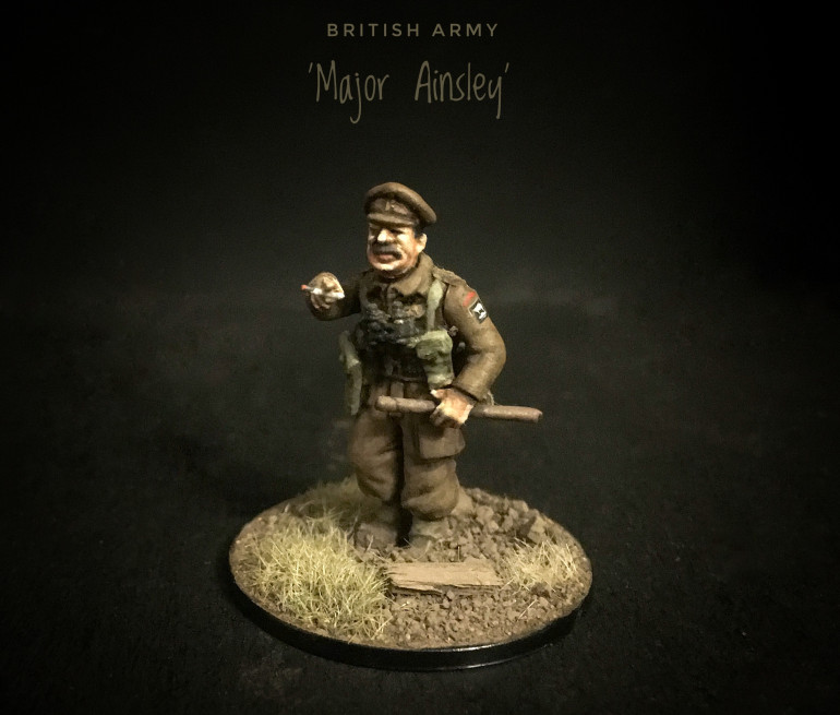 Bolt Action Character Figures