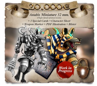 Anubis Unlock - Blood & Steel