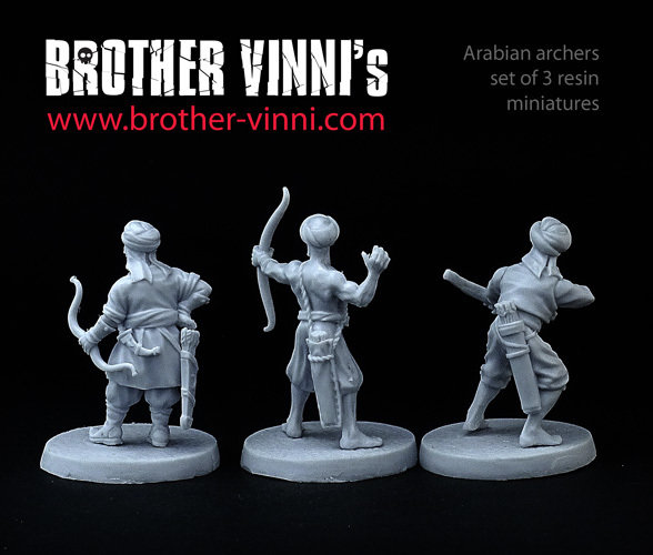 Arabic Archers #2 - Brother Vinni