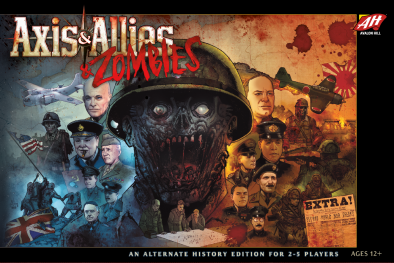 Axis & Allies & Zombies - Avalon Hill