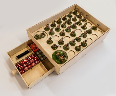 Bolt Action Tournament Tray - GameCraft Miniatures