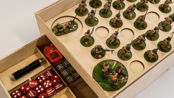 GameCraft Are Tournament Ready With New Legion & Bolt Action Trays