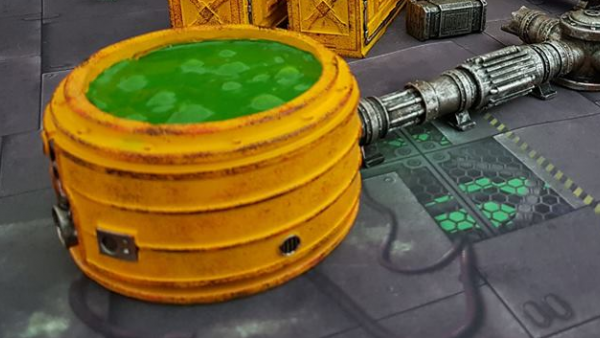 Gamemat.Eu Bubble Up Their Pre-Painted Chem Zone Terrain