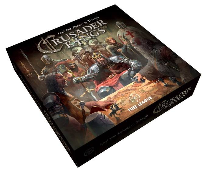 Crusader Kings Board Game (Main) - Free League