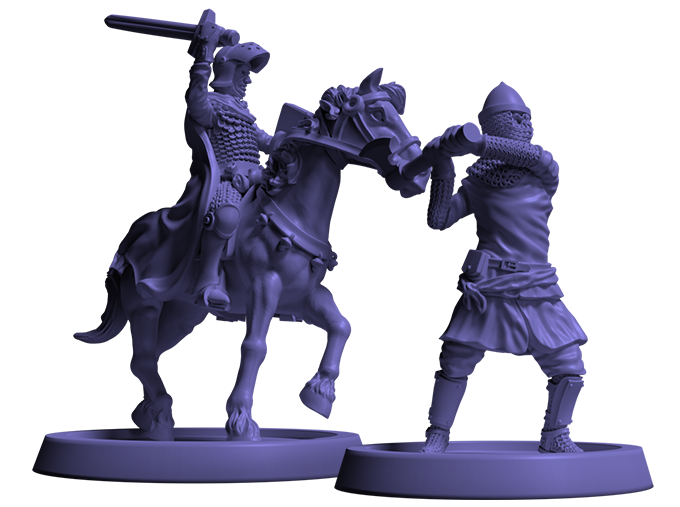 Crusader Kings Board Game Miniatures #1 - Free League