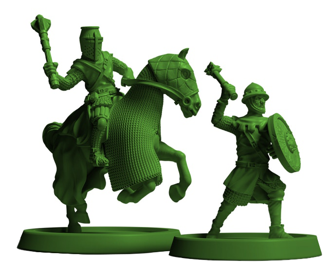 Crusader Kings Board Game Miniatures #2 - Free League