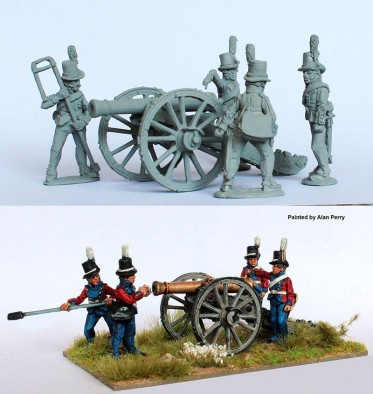 Danish Cannon #1 - Perry Miniatures