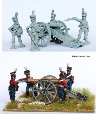 Danish Cannon #2 - Perry Miniatures