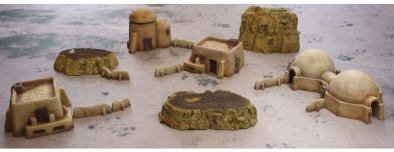Desert Scenery Set #1 - Micro Art Studio
