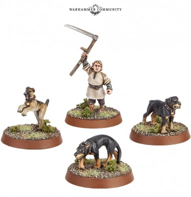 Farmer Maggot & Hounds - The Hobbit