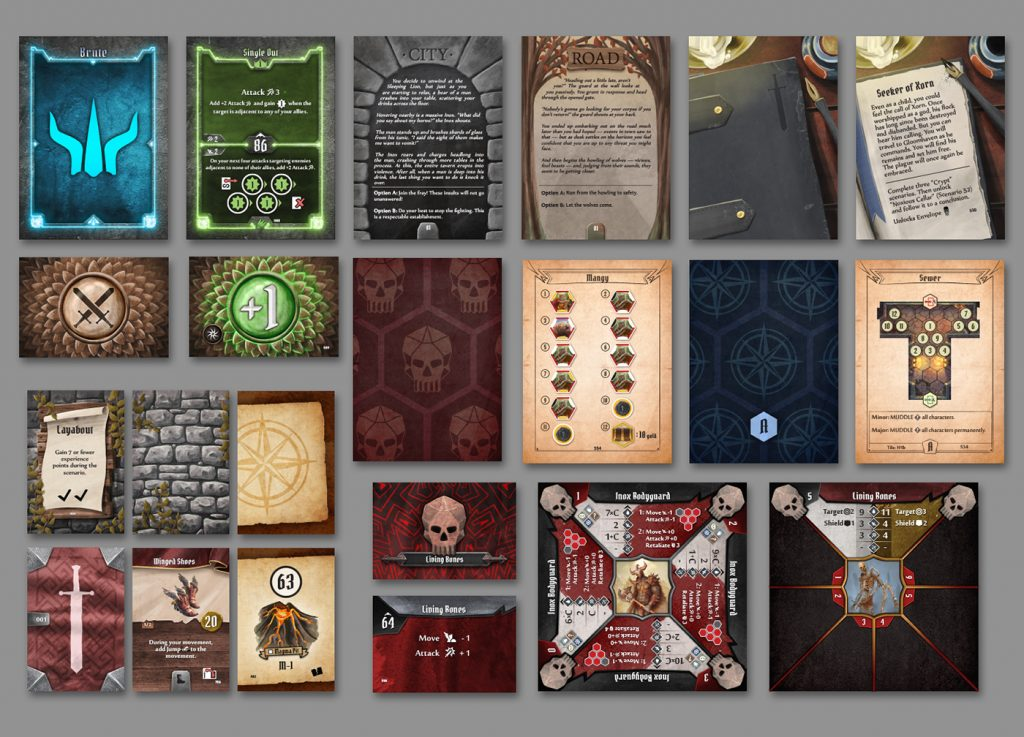 Gloomhaven Card Fan