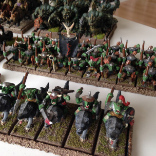 Orcs and Goblins; my oldest Warhammer Fantasy Army