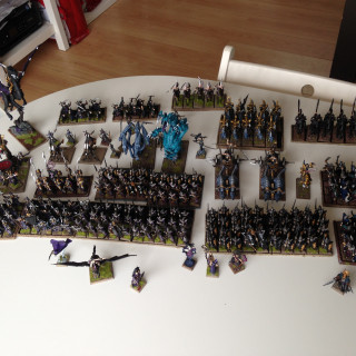 Dark Elves; my favourite Warhammer Fantasy Army