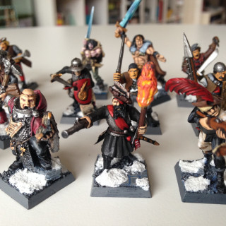 Mordheim / Frostgrave Warband; both old and new models