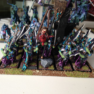 Vampire Counts; a commission painted army for my best friend
