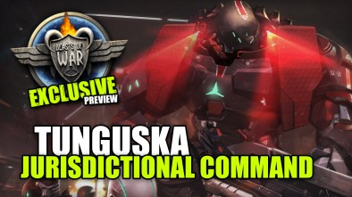 Infinity EXCLUSIVE Sneak Peek: TUNGUSKA Jurisdictional Command
