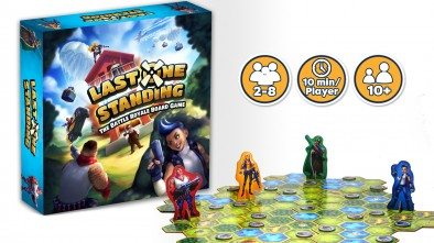 Last One Standing - The Battle Royale Board Game #1