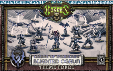 Legion Of Everblight Blighted Ogrun Theme Force - Hordes
