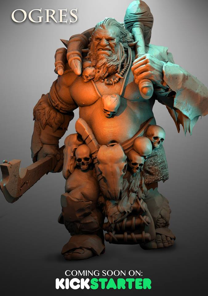 Ogre #1 - Atlantis Miniatures