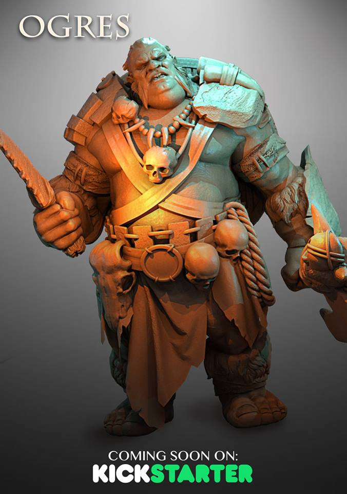 Ogre #2 - Atlantis Miniatures