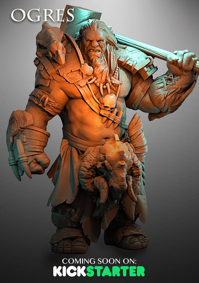 Ogre #3 - Atlantis Miniatures