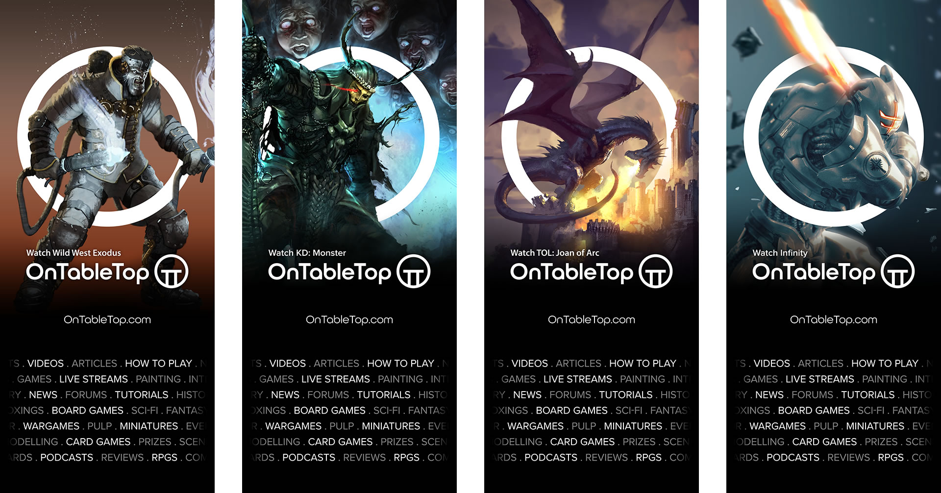 OnTableTop Brand Banners 1