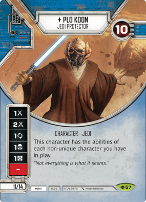 Plo Koon - Star Wars Destiny Teaser