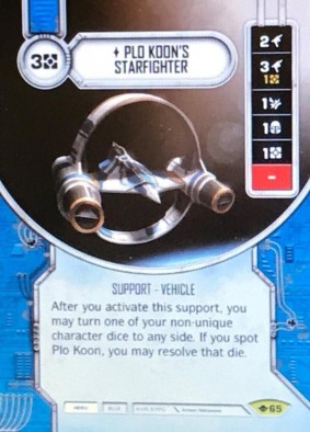 Plo Koon's Starfighter - Star Wars Destiny Teaser