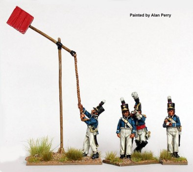 Portugese Telegraph Station - Perry Miniatures
