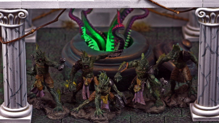 Slumbering Oblivion: Cthulhu Inspired Game Miniatures