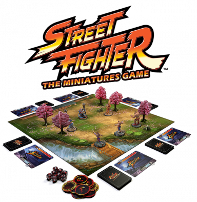 Street Fighter The Miniatures Game (Alt)