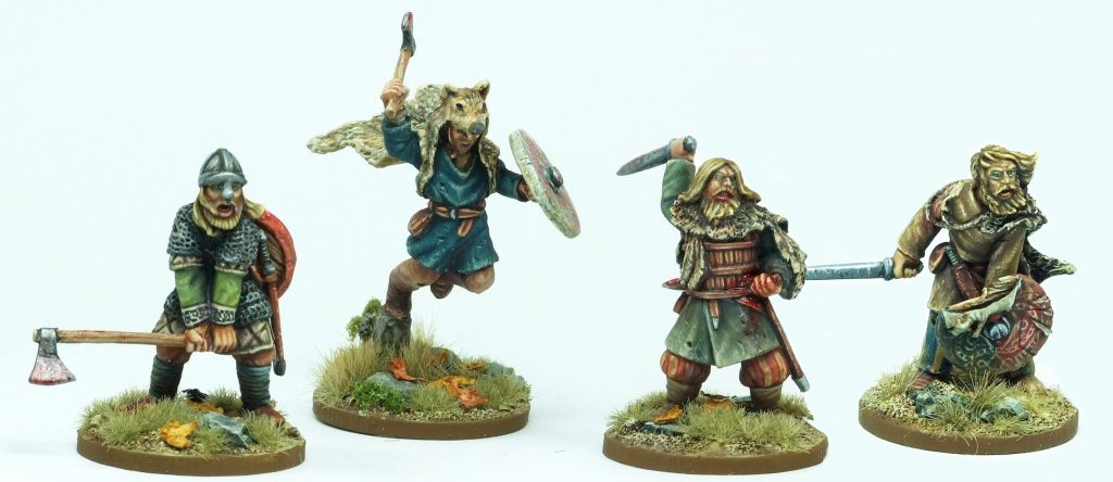 Viking Berserkers - Footsore Miniatures