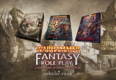 Warhammer Fantasy Role-Play - Cubicle 7