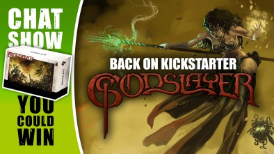 Weekender: The World Of Godslayer On Kickstarter & Fun With Captain Sonar!