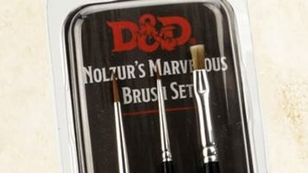 The Army Painter Show Off New D&D Themed Brush Set
